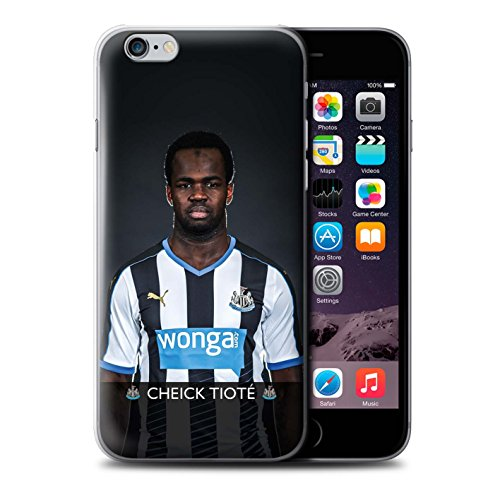 Officiel Newcastle United FC Coque / Etui pour Apple iPhone 6 / Pack 25pcs Design / NUFC Joueur Football 15/16 Collection Tioté