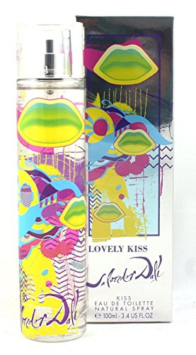 Dali Lovely Kiss EDT Vaporisateur/Spray für Sie 100ml - Spray 3.4 Ounce Kiss