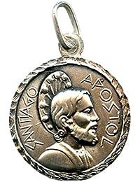 Medalla Santiago APÓSTOL 22 MM Plata ...