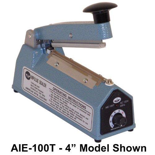 AIE-205 8 Handheld Heat - Impulse Bag Sealer w/ 5mm Seal by American International Electric (AIE) (Impuls-handheld)