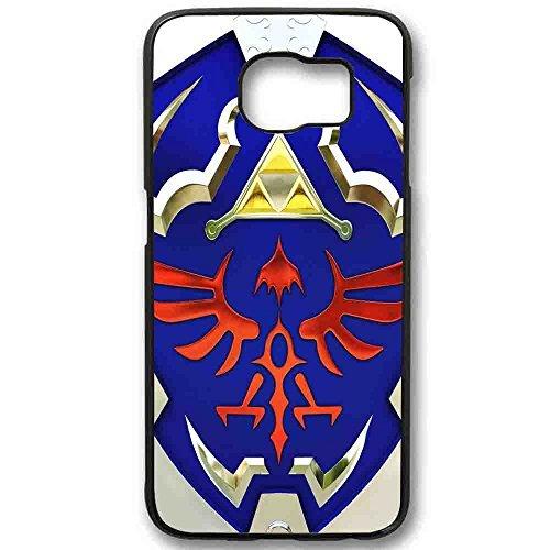 Zelda hyrule shield for Samsung Galaxy Case Cover (Samsung Galaxy S6 Black)