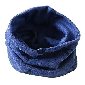 K-youth® Bebé pañuelos de cuello, Invierno Collar del Bebé Algodón Cuello redondo Bufandas 9