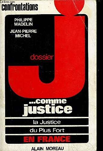 dossier, J comme justice