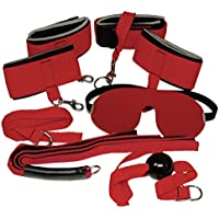 Bad Kitty Exotic Wear Red Giant Bondage-Set 8teilig