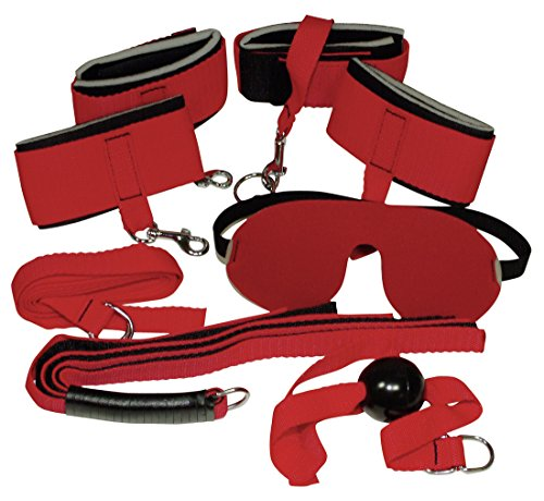 Bad Kitty Exotic Wear Red Giant Bondage-Set 8-teilig