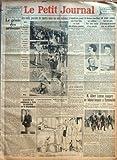 petit journal le no 25813 du 18 09 1933 la vie qui passe le genie des artisans par georges ricou une belle journee de sports sous un ciel radieux aujourd hui commencent a paris les entretiens sur le desarmement par claude jeantet la guerre b
