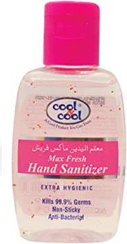 Cool & Cool Max Fresh Hand Sanitizer Gel - 60 ml