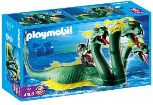 PLAYMOBIL 4805   DRAGON MARINO DE 3 CABEZAS