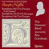 Haydn: Symphonies Nos 73 'La Chasse', 74, 75 /The Hanover Band · Goodman