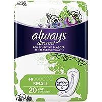 Always Discreet Small paquets de protège-slips pour fuites urinaires légères