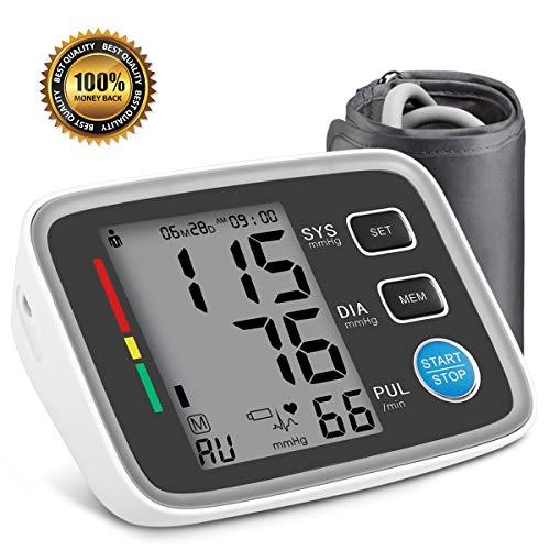 Blutdruckmessgerät Oberarm, Digitale Blutdruck Messgeräte AlphagoMed Powered by Hizek Automatische...