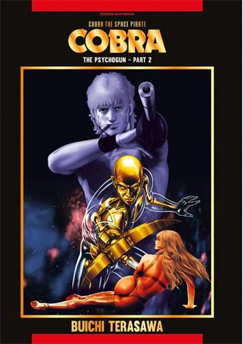 Cobra the space pirate Edition couleurs Tome 2