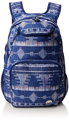 Roxy Shadow Swell Zaino Casual, 46 cm, Akiya Combo Blue Print