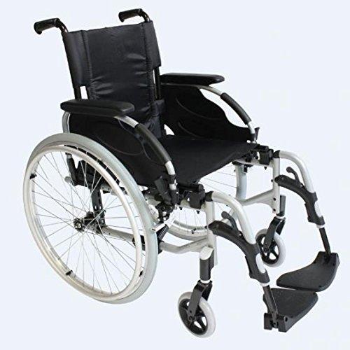 Silla de ruedas de aluminio autopropulsable Action 2 asiento de 43 cm