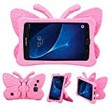 iPad case for Kids, 3D Cartoon Butterfly Non-Toxic EVA Light Weight Kid Proof