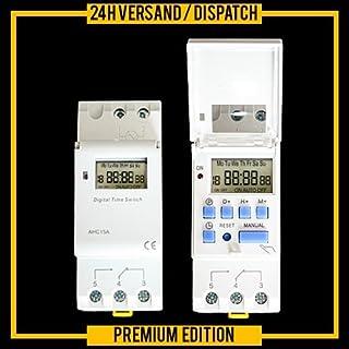 Wochenzeitschaltuhr 220/230V Hutschine DIN AHC-15A ZZ2