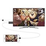Rayinblue Noir 2m 8broches Dock Lightning vers HDMI HDTV AV Adaptateur de câble pour Apple iPhone 66S Plus 55S besoin Personnel Hotspot prise en charge