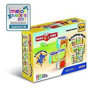 Geomag- Magicube Juguete de construcción, Multicolor, 4 Piezas (132)