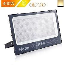 400W LED Foco Exterior de alto brillo,40000LM Impermeable IP66 Proyector Foco LED, Iluminación