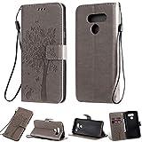 Zchen LG Q60 Case, LG K50 Case, PU Leather Kickstand Wallet