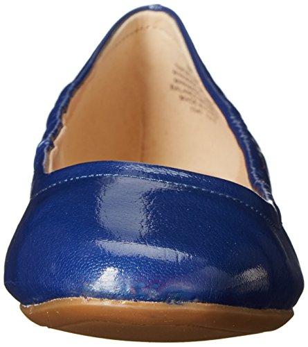 Nine West Girlsnite Synthetic Ballerinas Dark Blue