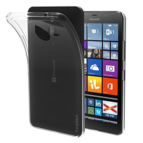 82e57b79580 iVoler Funda Carcasa Gel Transparente para Microsoft Lumia 640XL / Microsoft  Lumia 640 XL, Ultra