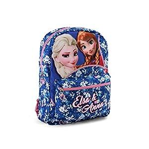 51eKK%2BSZGJL. SS300  - Karactermania Frozen Zipper Mochila infantil reversible, 31 cm, Multicolor