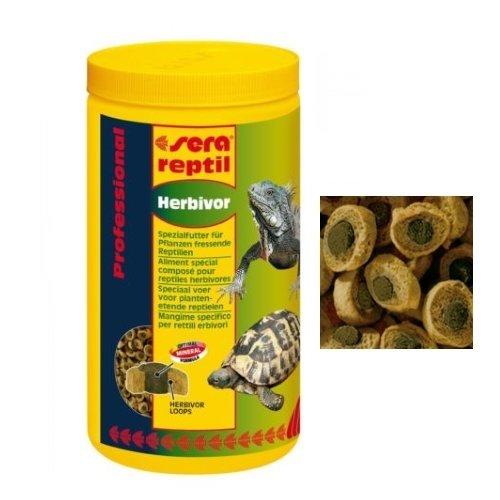 Sera Reptil Professional Herbivor–Futtermittel Profi coestruso, speziell für Reptilien Pflanzenfresser 1000 ml