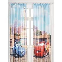 AG Diseño fcsxxl 7027Disney Cars, habitación de los Niños/cortinas, 280x 245cm, 2piezas (140x 245cm), plástico, multicolor, 0,1x 280x 245cm