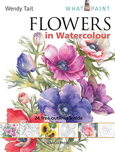 Flowers in Watercolour (SBSLA05) Cover Image