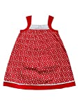 Young Birds Girls Cotton Lace Neck Dress...