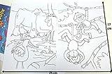 10 Malbücher Mini-Malbuch DIN B6 (17,6 x 12,5 cm) Mitgebsel Kinderparty Hochzeit Geschenk Kindergeburtstag - 4 Motive hergestellt von W F Graham