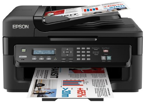 Epson WorkForce WF-2520NF Laser A4 Negro - Impresora multifunción (Laser, Colour printing, Colour copying, Colour scanning, Colour faxing, 3000 páginas por mes)