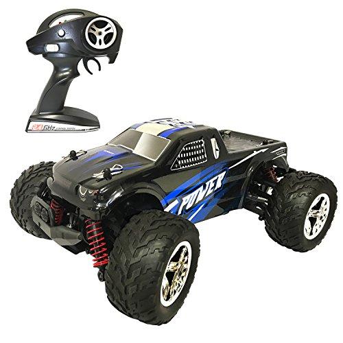 Coche RC HomeXin 1/20 Proporción 2.4GHz Coche Teledirigido 40km/h Vehículo eléctrico controlado por radio 4WD Todo terreno 1500mAh Batería de iones de litio, azul