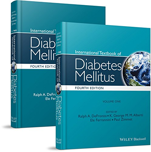 International Textbook of Diabetes Mellitus, 2 Volume Set