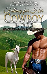 Falling for Her Cowboy Boss (BBW Billionaire Western Romance) (Cowboys of Colton Canyon Book 1)