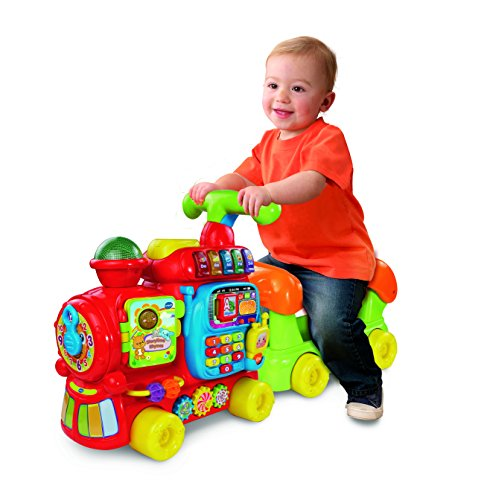 Image of VTech Baby Push and Ride Alphabet Train