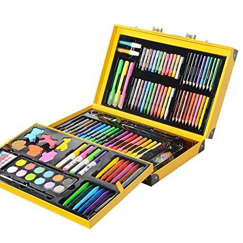 159pcs Kunst-Set, deluxe Kunst Öl Bleistifte Stifte Marker Farbstifte - ideal für Kinder...