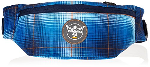 Chiemsee - Marsupio Waistbag, Unisex, Bauchtasche Waistbag, Plaid Regatta, Taglia unica