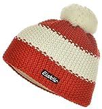 Eisbär Mütze Star Pompon One Size kleines Logo   rot/weiß/rot
