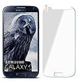 moex 9H Panzerfolie für Samsung Galaxy S4 | Panzerglas Display Glasfolie [Tempered Glass] Screen Protector Glas Displayschutz-Folie für Samsung Galaxy S4 / S IV Schutzfolie
