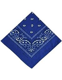 ATM - Bandana / Foulard - 100% Coton - Bleu roi