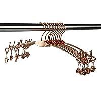 Kexinfan Hanger Hot Sale Metal Lingerie Hanger For Bra,Underwear,With Big Hook (20 Pcs/Lot),Rose Gold