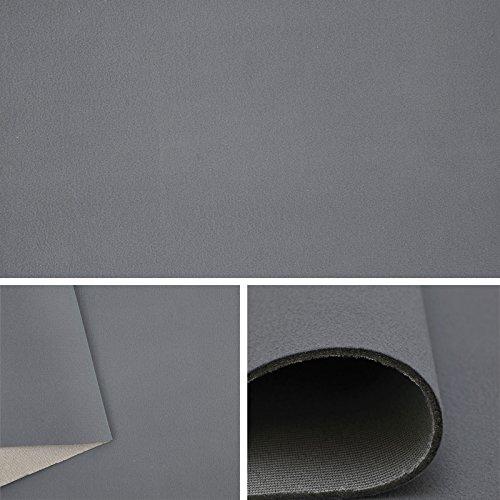 Himmelstoff Autostoff Polsterstoff Bezugsstoff kaschiert Farbe: Grau SAM189 T189 04