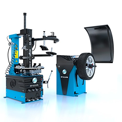 Reifen Montiermaschine und Wuchtmaschine RP-R-U221PN-400V2S+HA90 und RP-R-U120PN im Set