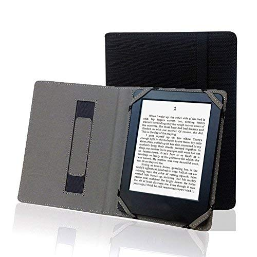 Enjoy- Coque unique en lin naturel pour eBook Reader 6 pouces universel pour Sony/Kobo/Tolino/PocketBook