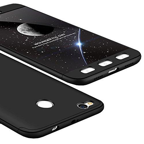 Redmi-4X-Custodia-WindCase-360-Gradi-Full-Body-Protettiva-Caso-3-in-1-Duro-PC-Antigraffio-Copertura-per-Xiaomi-Redmi-4X