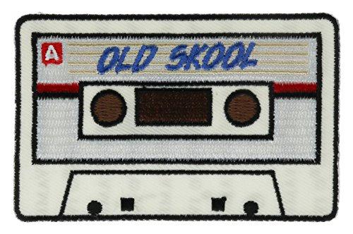Old Skool Kassette Tape Patch 7,6cm ivan5946