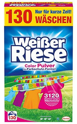 Weißer Riese Color Pulver, 1er Pack (1 x 130 Waschladungen)