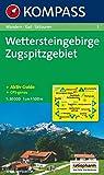 Wettersteingebirge, Zugspitzgebiet: Wandern / Rad / Skitouren. GPS-geeignet. 1:50.000